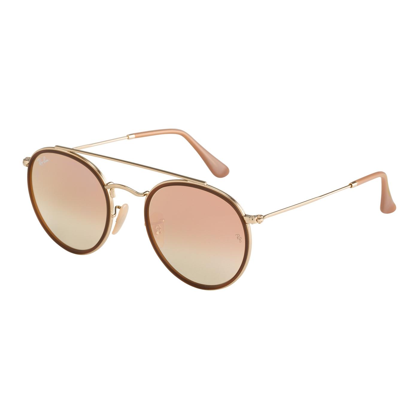 Aviator/rond lunettes de soleil RB3647N0017O51 - Ray-ban - Modalova