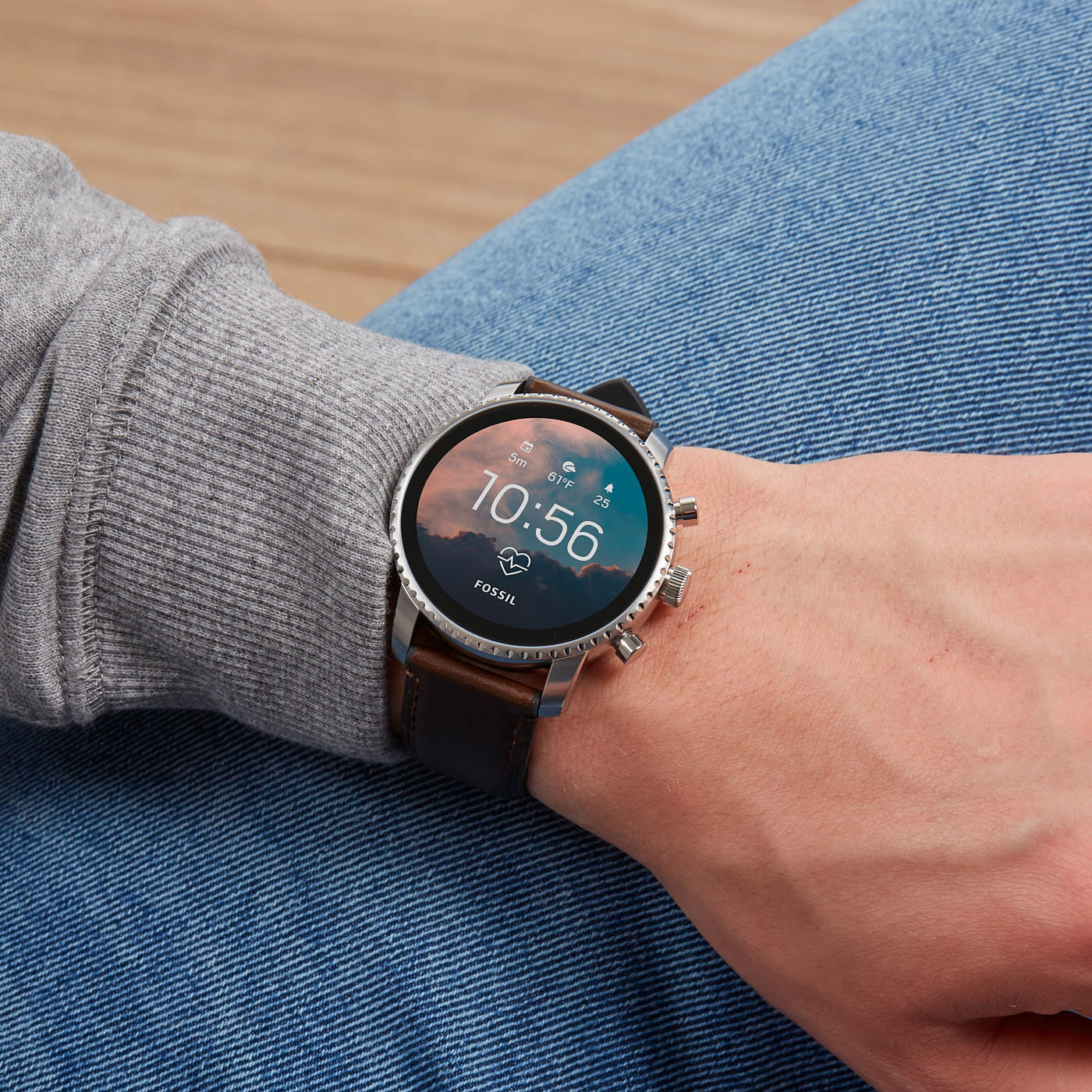 Fossil Q Explorist Gen 4 Display Smartwatch FTW4015