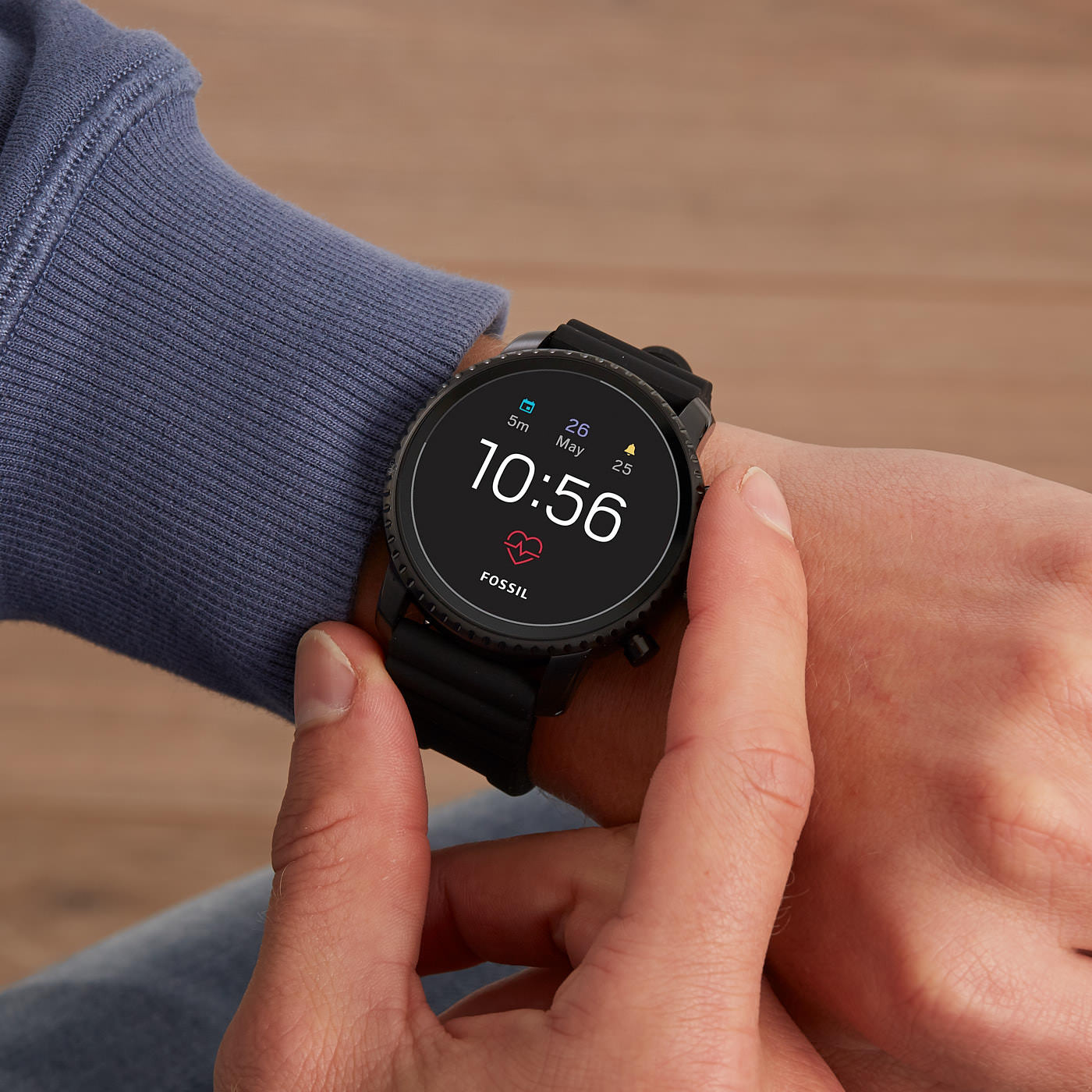 Fossil Q Explorist Gen 4 Display Smartwatch FTW4018