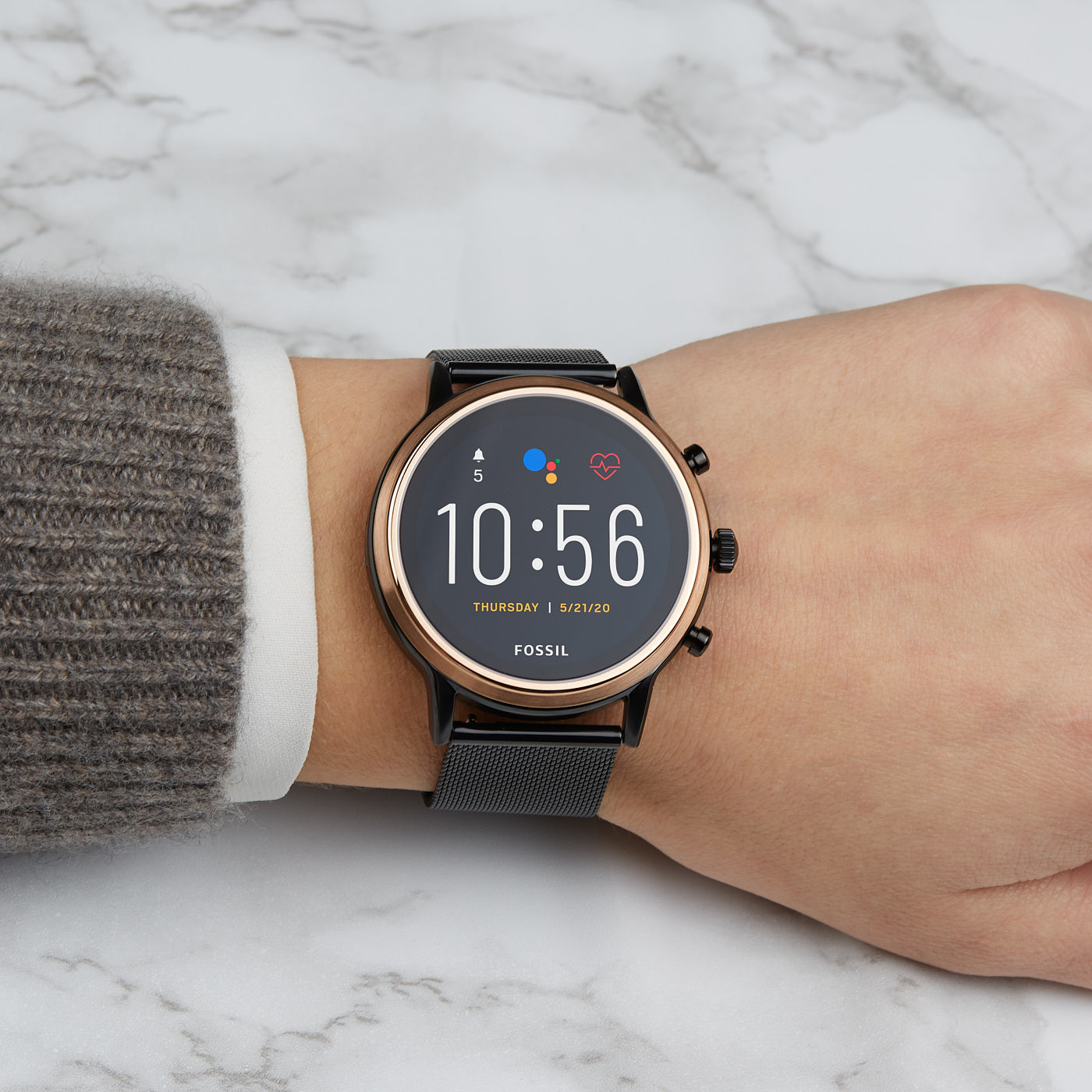 Fossil Julianna HR Gen 5 Display Smartwatch FTW6036