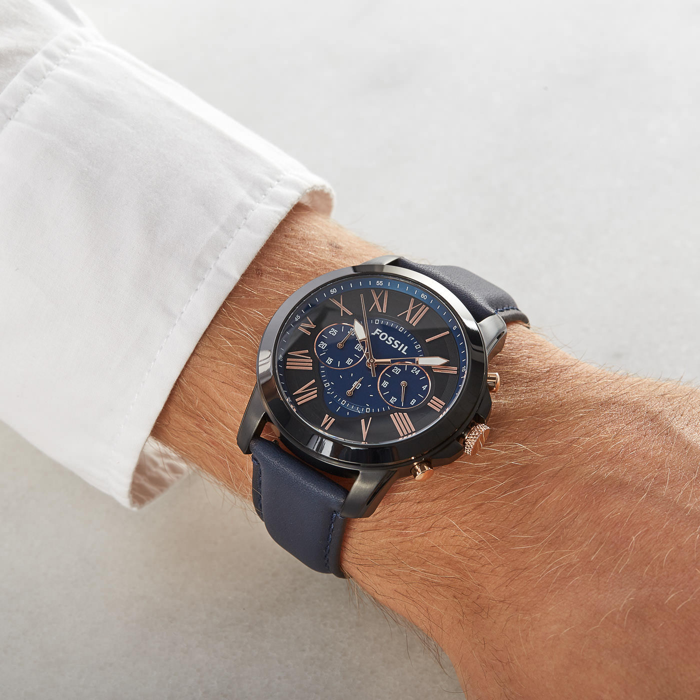 Fossil Grant horloge FS5061