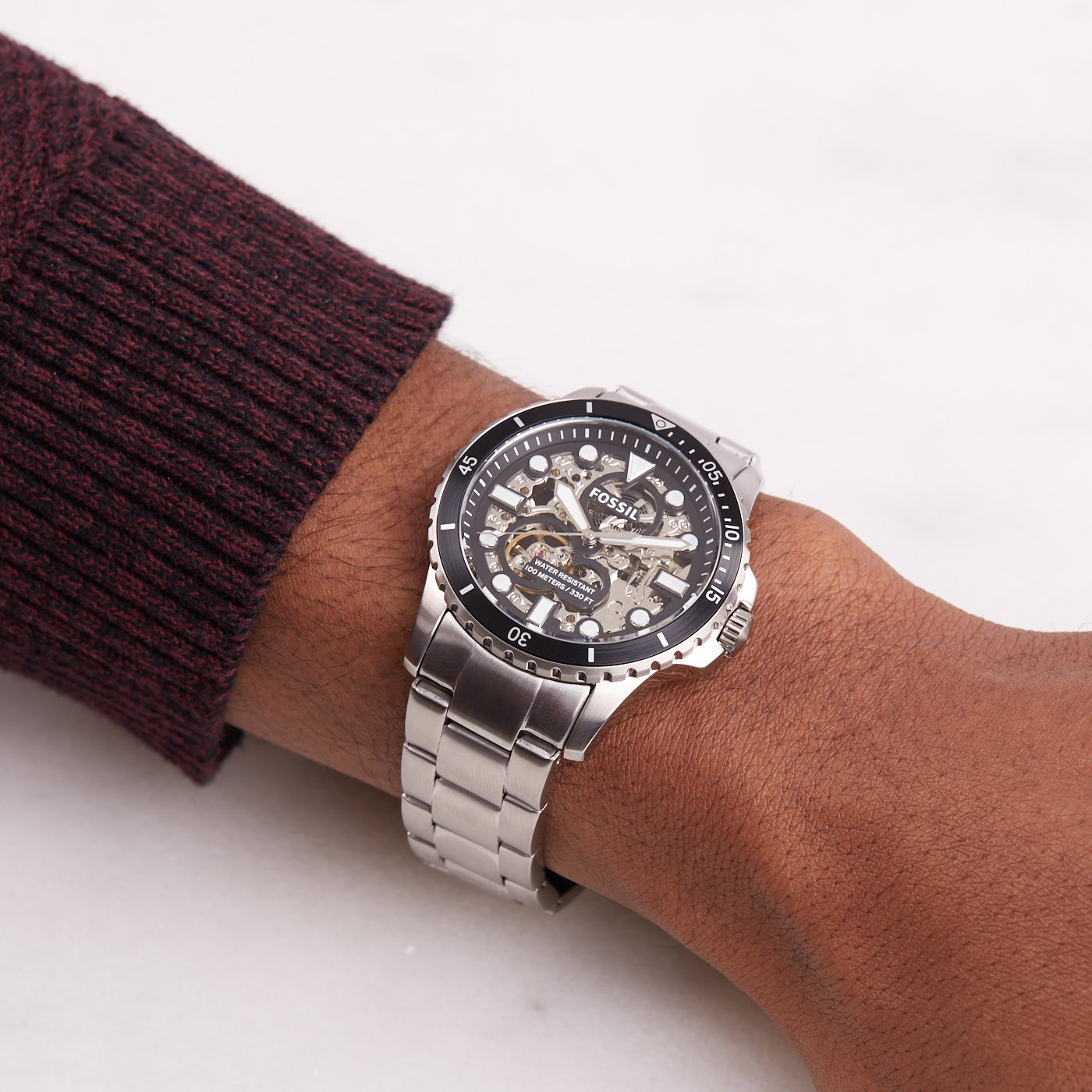 Fossil Automaat horloge ME3190