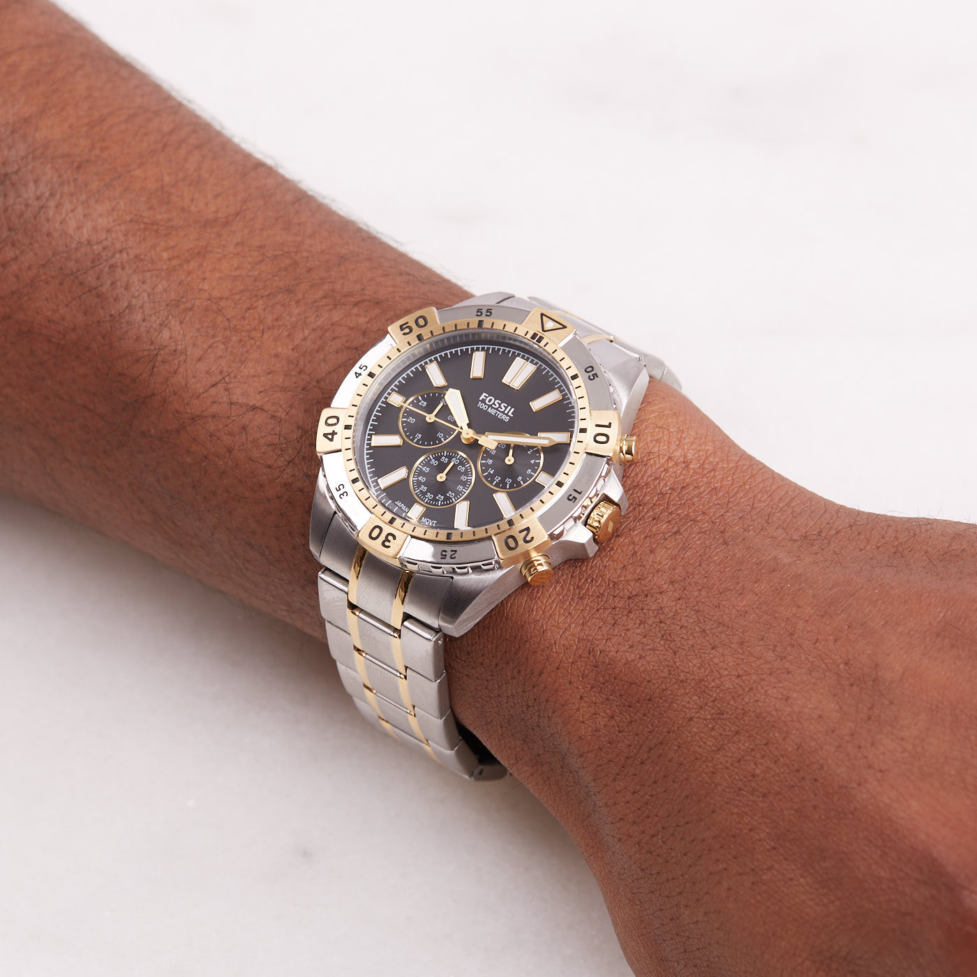 Fossil Garrett Chronograaaf horloge FS5771
