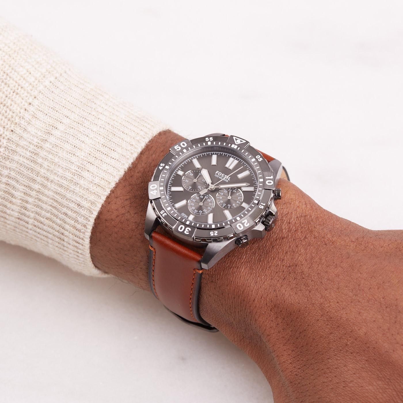 Fossil Garrett Chronograaf horloge FS5770