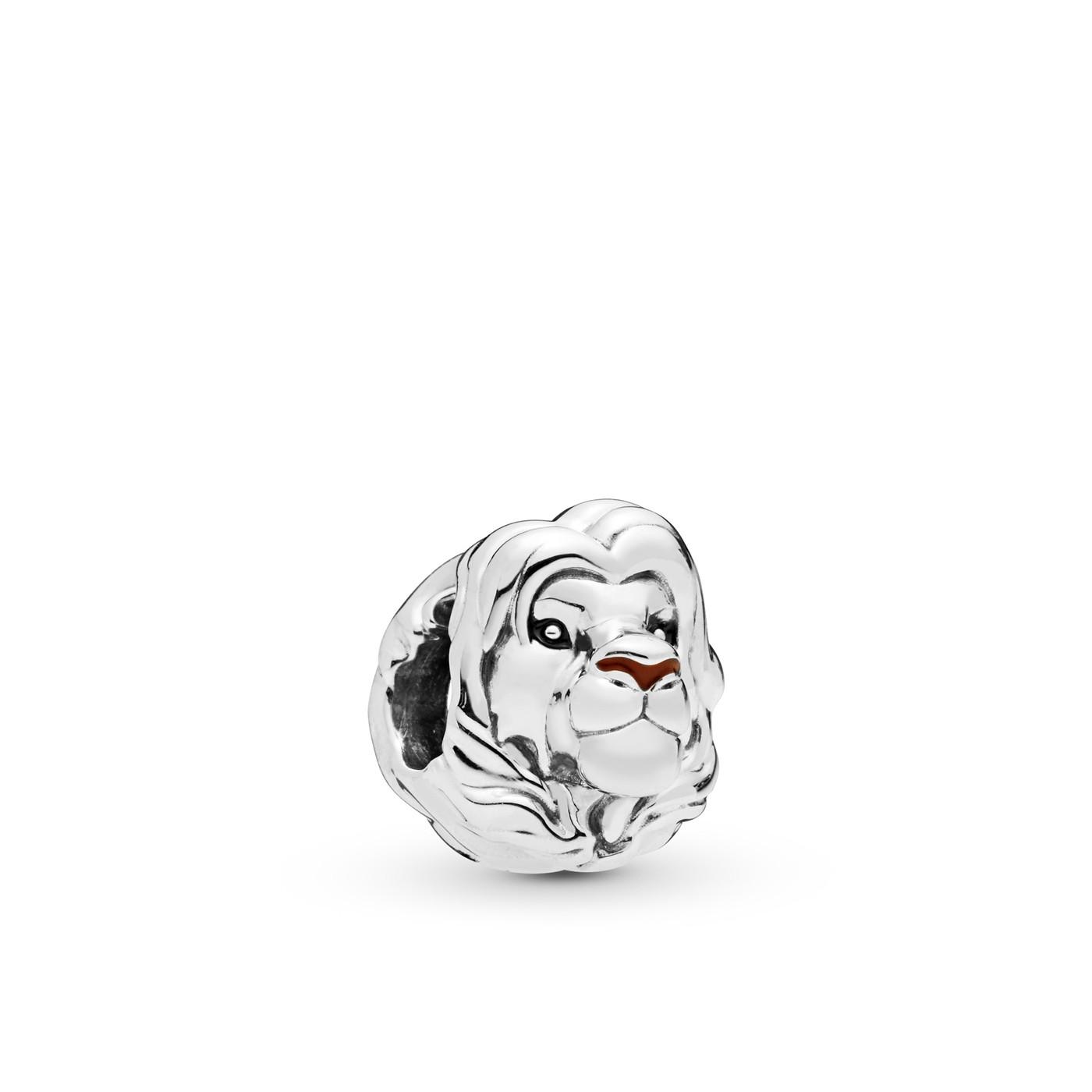 Pandora Moments 925 Sterling Zilveren Disney Simba Bedel 798049ENMX