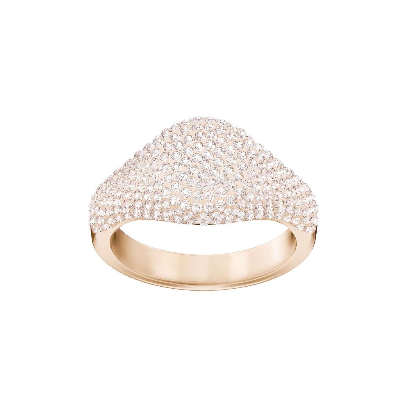 Swarovski bague Stone-signet-silk - Bijoux 3f169079a714