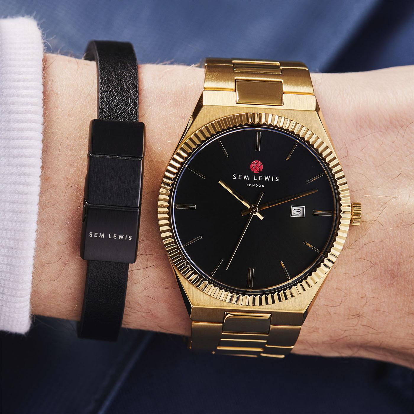 Sem Lewis Bakerloo bracelet SL210022 (Taille: 21 cm)