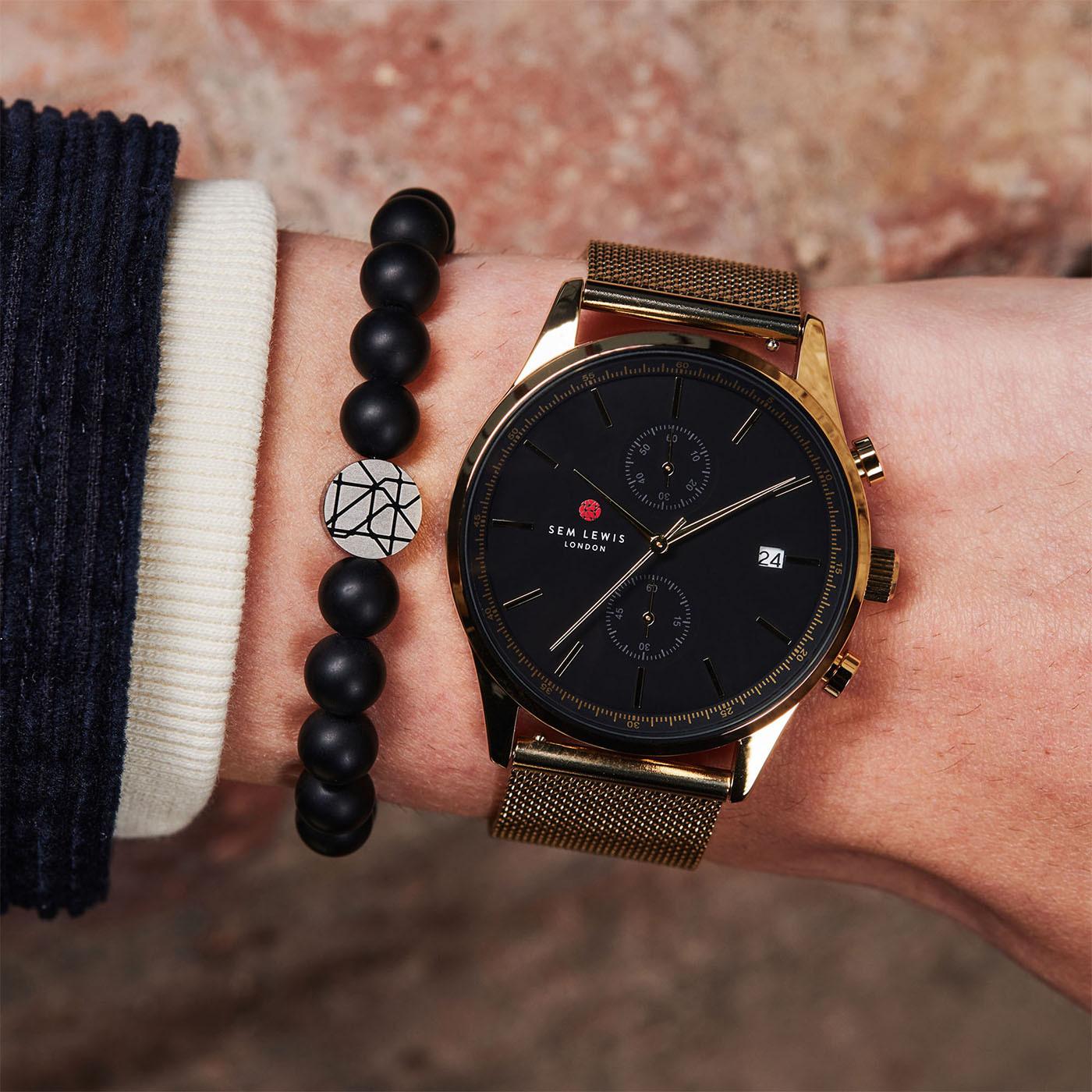Sem Lewis Metropolitan Northwick Park Chronograph horloge SL1100022