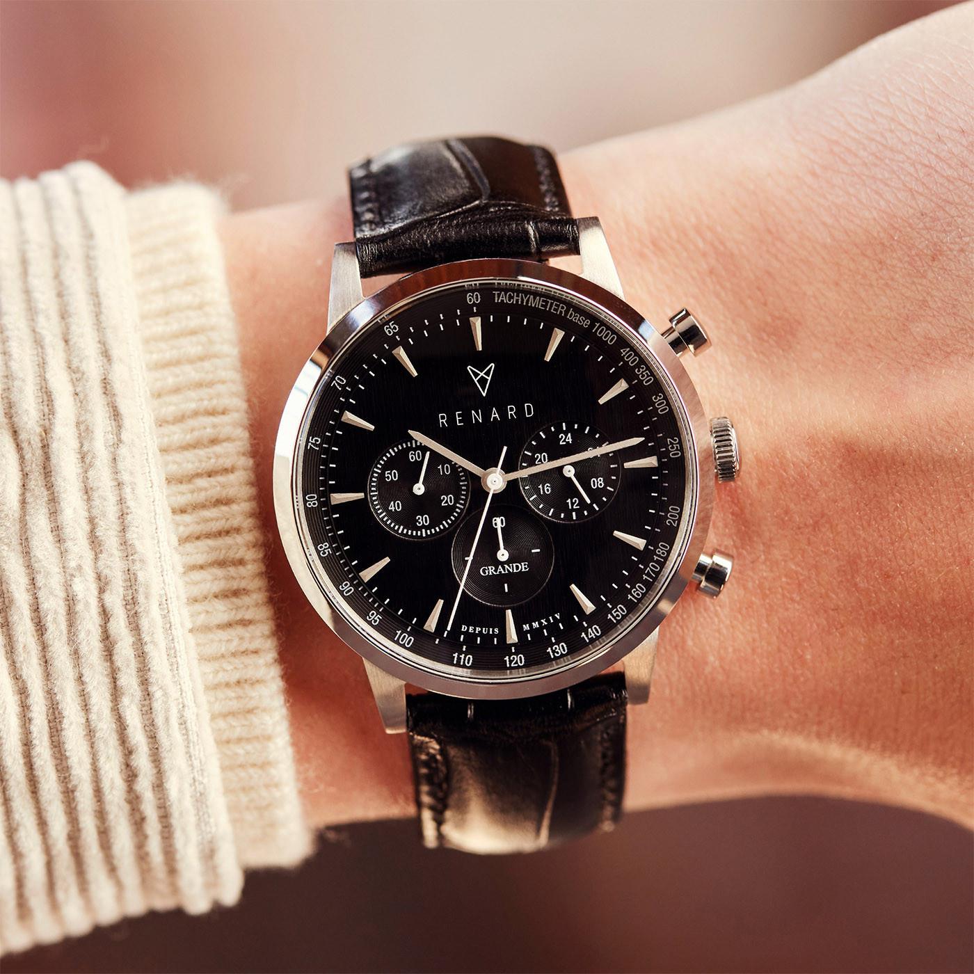 Renard Cadeau du Renard Herenhorloge Met Horlogeband RW90010