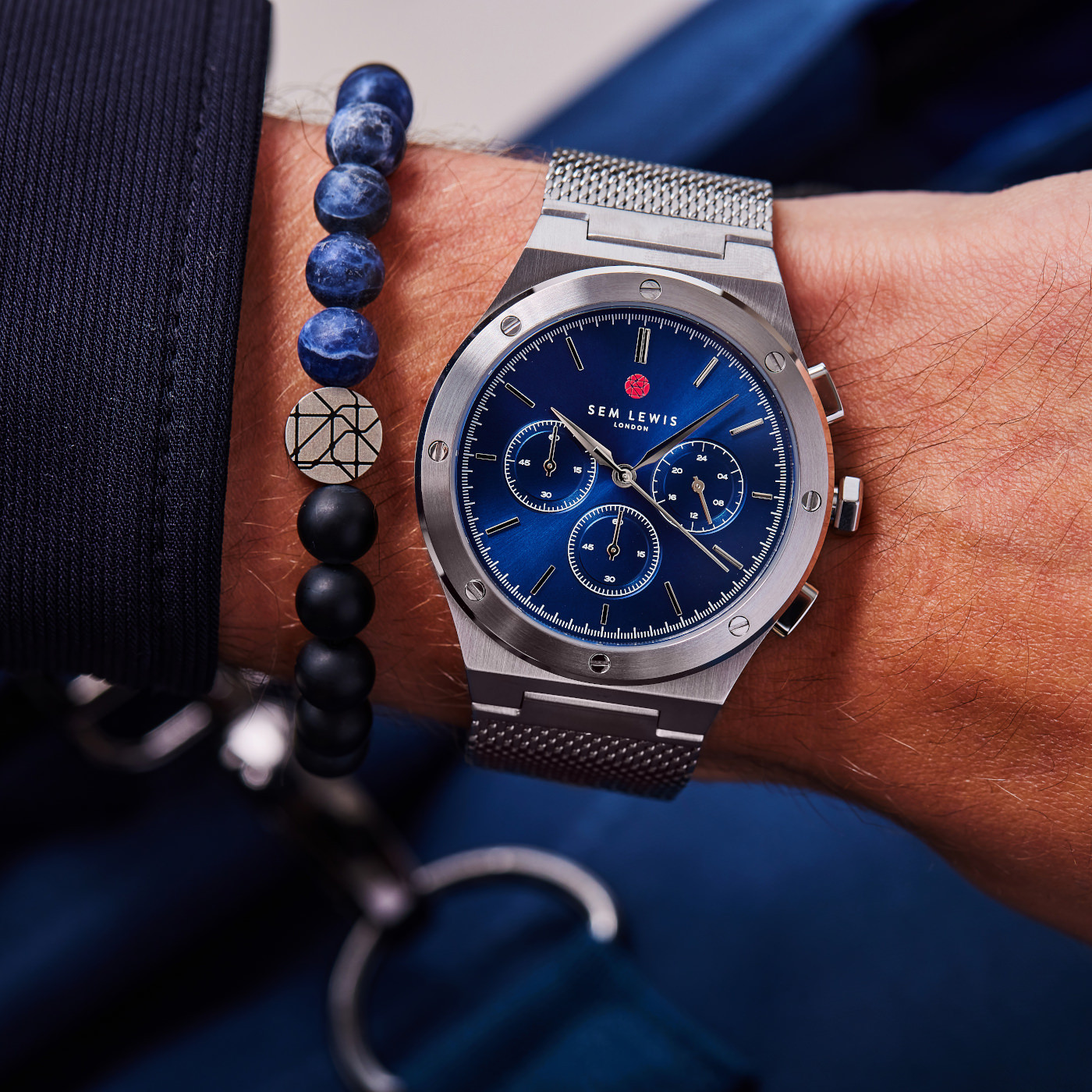 Sem Lewis  Moorgate Chrono horloge SL1100045