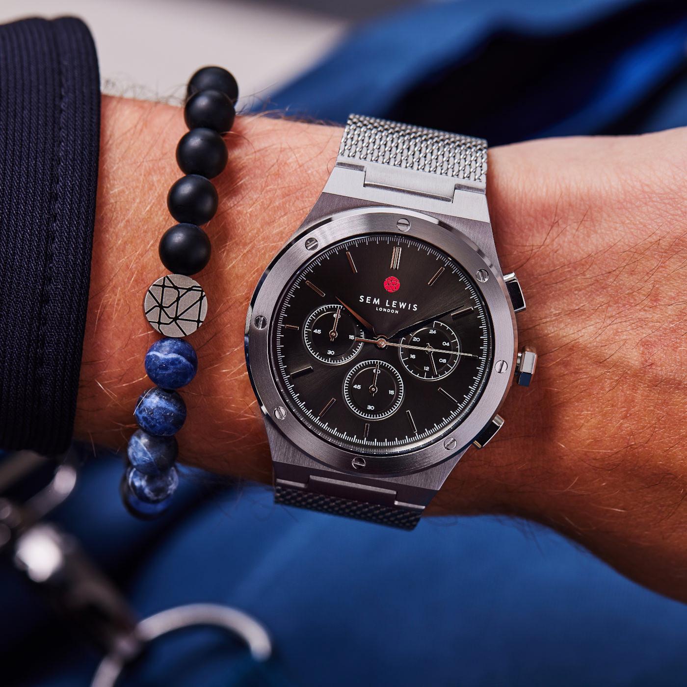 Sem Lewis  Moorgate Chrono horloge SL1100047