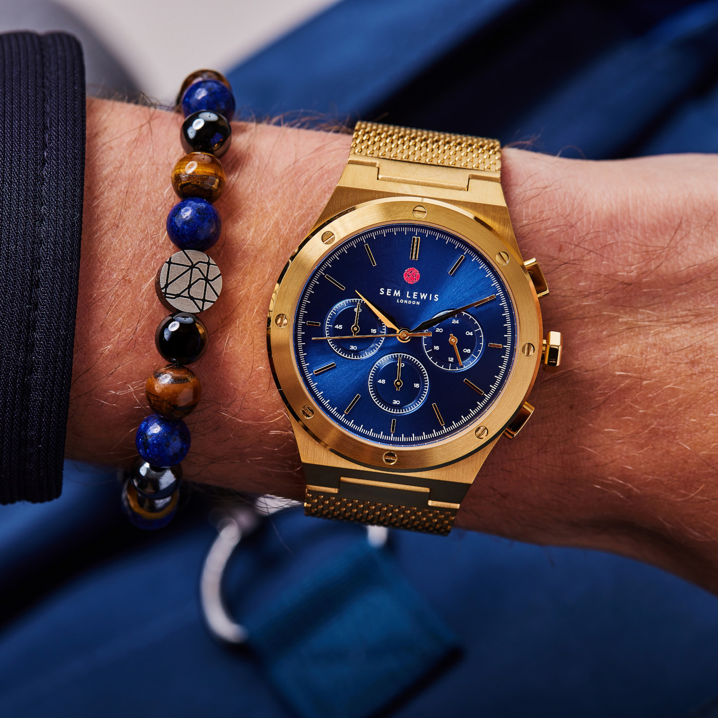 Sem Lewis  Moorgate Chrono horloge SL1100042