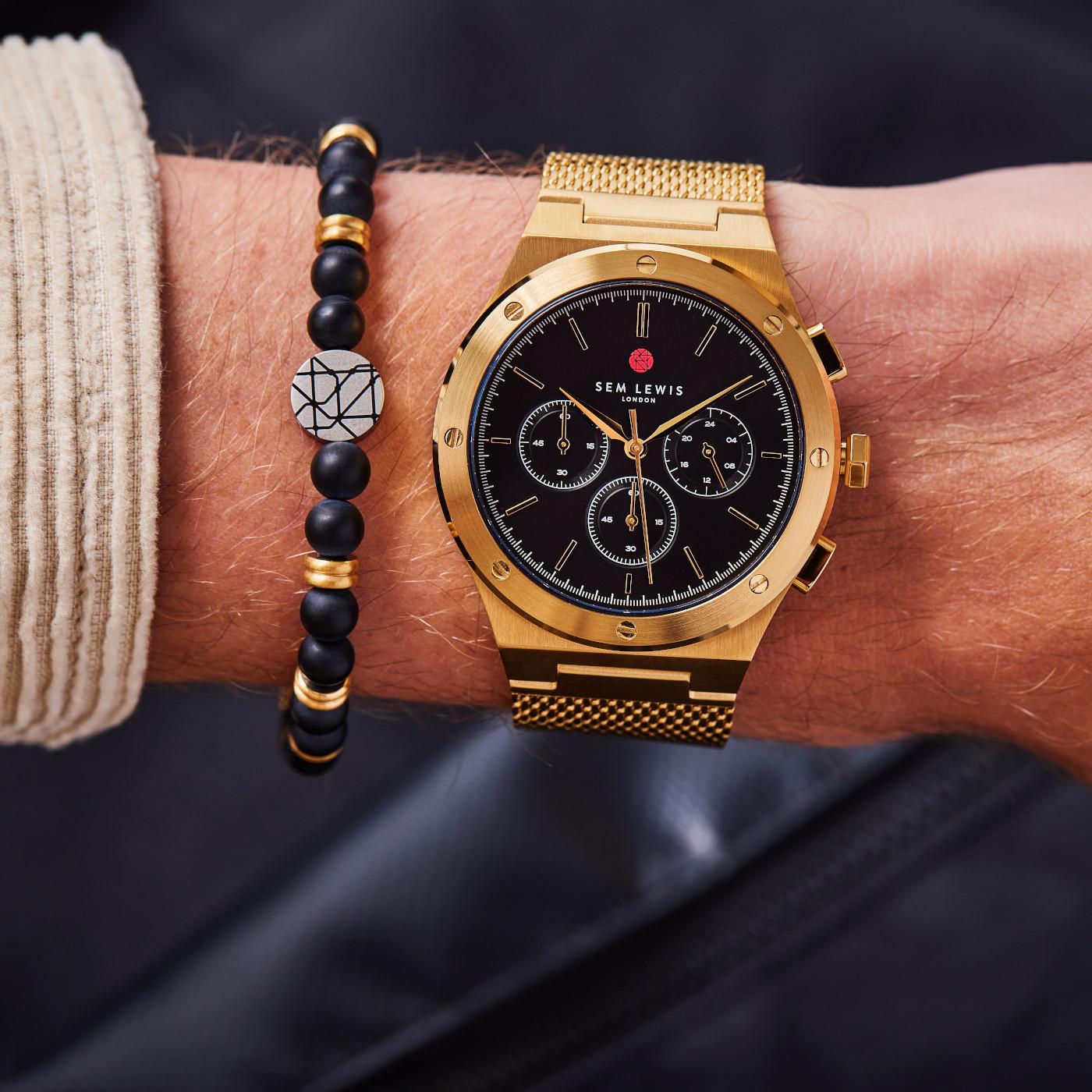 Sem Lewis  Moorgate Chrono horloge SL1100040
