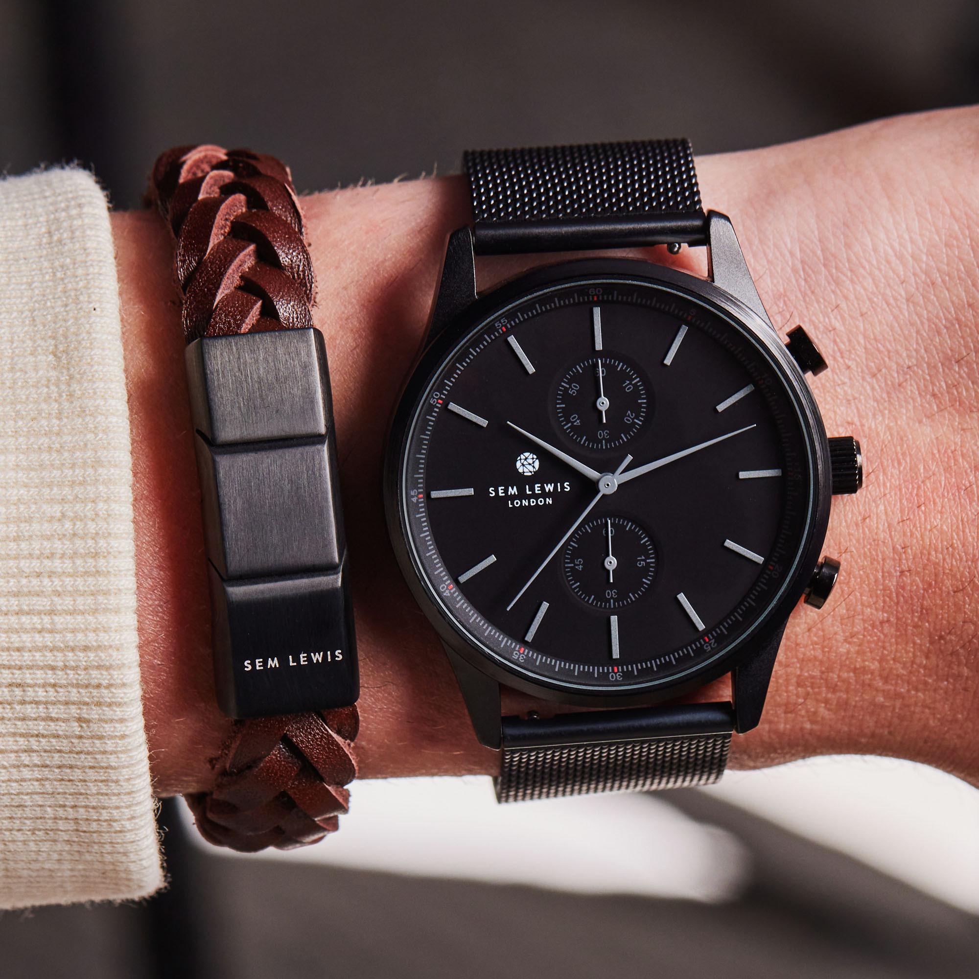Sem Lewis Metropolitan Northwick Park Horloge en Strap Giftset SL90004