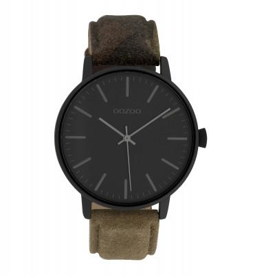 OOZOO Timepieces Army/Zwart horloge C10043 (42 mm)