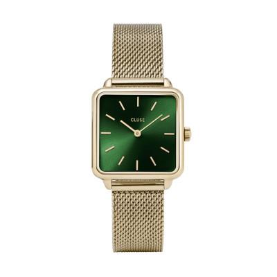 CLUSE La Tétragone Goudkleurig Horloge CW0101207013