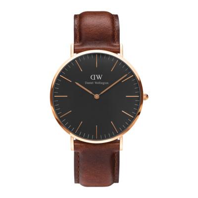 Daniel Wellington Classic Black St Mawes horloge (40 MM) DW00100124