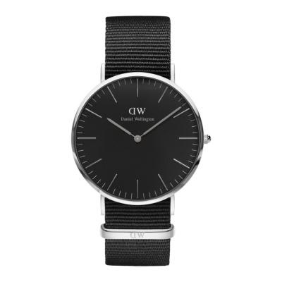 Daniel Wellington Classic Black Cornwall horloge (40 MM) DW00100149