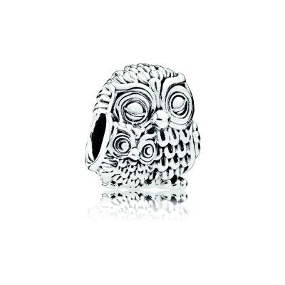 Pandora Zilveren Owl Family Bedel 791966