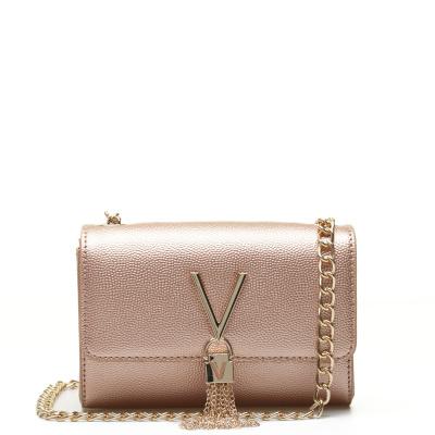 Valentino Bags Divina Oro Rosa Crossbody VBS1R403GORO-ROSA
