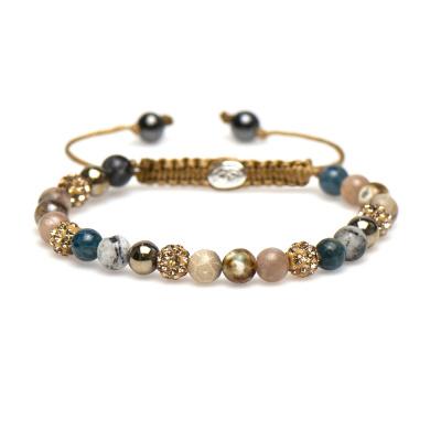 Karma Spiral Yvet Bracelet 83298 (Longueur: 17.50-19.00 cm)