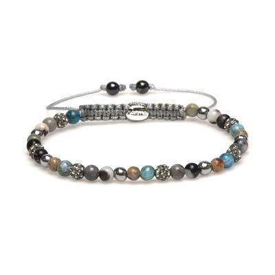 Karma Sprial Fyne Bracelet 84279 (Longueur: 17.50-19.00 cm)