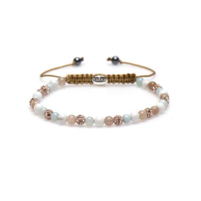 Karma Spiral Made Mint Armband 84324 (Lengte: 17.50-19.00 cm)