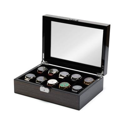 Mats Meier Mont Fort boîte à montres gris - 10 montres