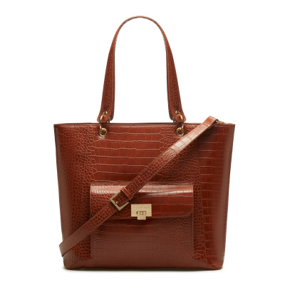 May Sparkle The Daily Cognac Croco Shopper MS25004