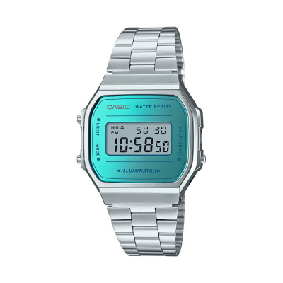 Casio Retro Mirror Face horloge A168WEM-2EF