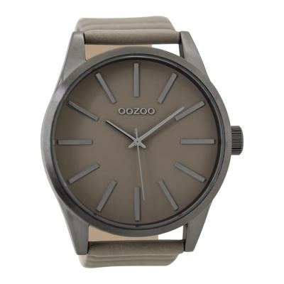 OOZOO Timepieces Taupe horloge C9411 (50 mm)