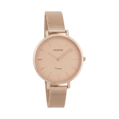 OOZOO Vintage  Roségoudkleurig horloge C9823 (34 mm)