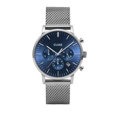 CLUSE Aravis Zilverkleurig Chronograaf horloge CW0101502004