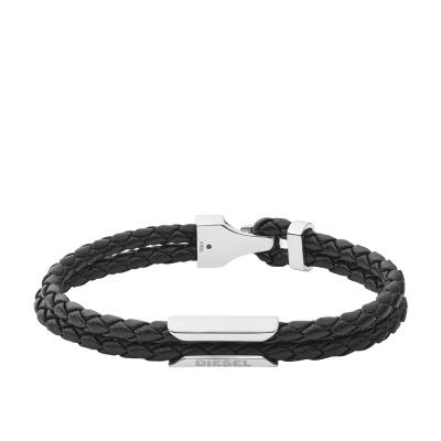 Diesel Stackables Zwarte Armband DX1247040
