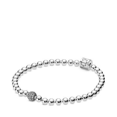 Pandora Stories bracelet 598342CZ (Taille: 17-21 cm)