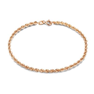 Isabel Bernard La Concorde Violette bracelet en or rose 14 carats IB320049