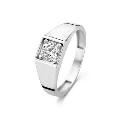 Isabel Bernard Saint Germain Lauren 14 Karaat Witgouden Ring IB330032