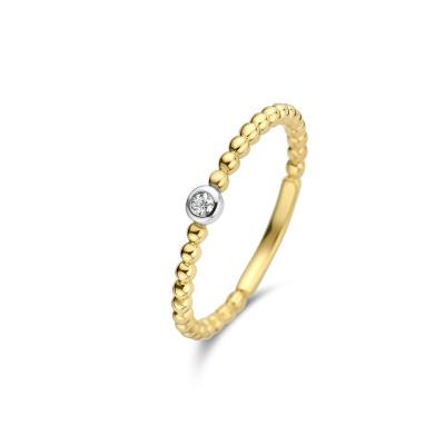 Isabel Bernard 14 Karaat Gouden Le Marais Élodien Ring IB4021615