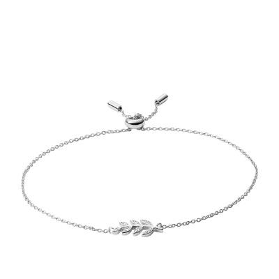 Fossil Sterling Silver bracelet JFS00484040 (Taille: 21.5 cm)