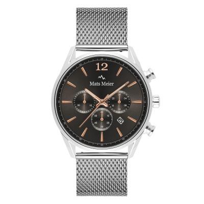 Mats Meier Grand Cornier chronographe gris / couleur argent MM00130