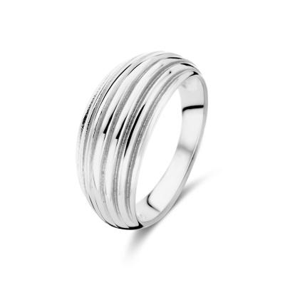 May Sparkle Summer Breeze Emmy Zilverkleurige Ring MS330009