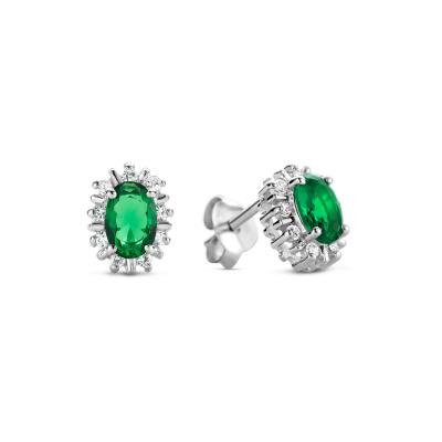 Parte Di Me Mia Colore Verdi 925 Sterling Zilveren Oorknoppen PDM36048