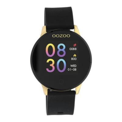 OOZOO Zwart/Goud Display Smartwatch Q00120