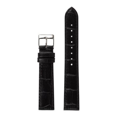 Renard Elite 35.5 Strap 18 mm Croco Zwart R18S2CBK