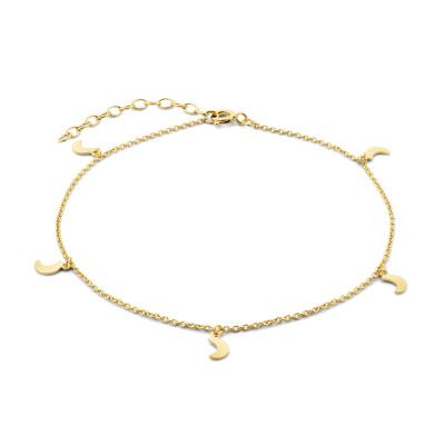 Selected Jewels Julie Louna bracelet de cheville couleur or en argent sterling 925 SJ310007