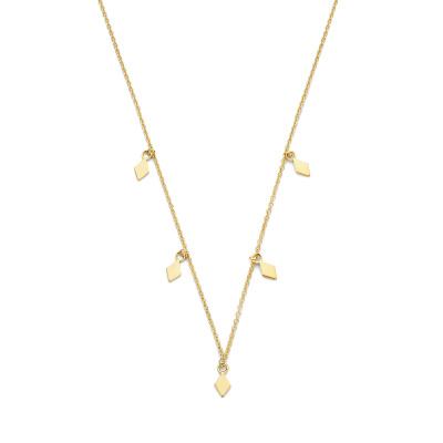 Selected Jewels Julie Sanne collier couleur or en argent sterling 925 SJ340023