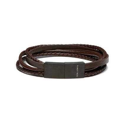 Sem Lewis Bakerloo Charing Cross Armband SL210027 (Lengte: 21.00 cm)