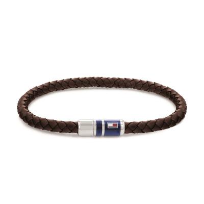 Tommy Hilfiger Bruine Armband TJ2790295 (Lengte: 21.50 cm)