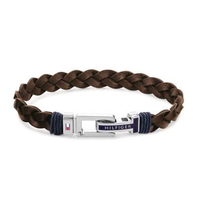 Tommy Hilfiger Bruine Armband TJ2790309 (Lengte: 21.00 cm)