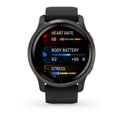 Garmin Venu 2S smartwatch zwart 010-02430-11